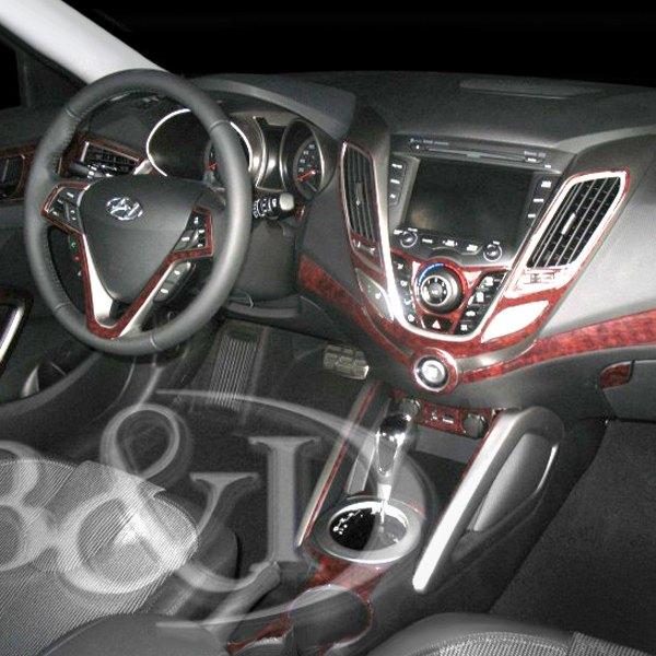 B i hyundai veloster 2012 2d large dash kit - Hyundai veloster interior accessories ...