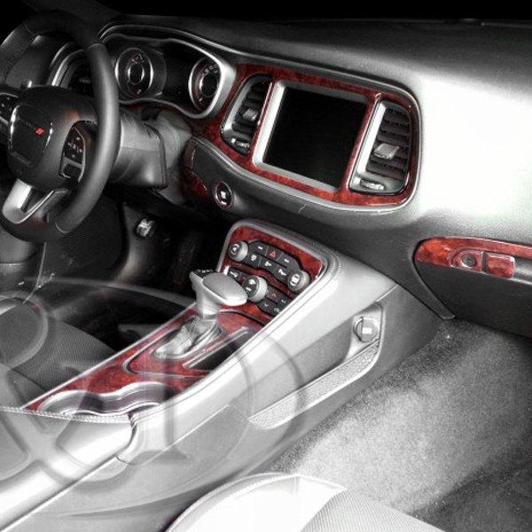 B i dodge challenger 2016 2d small dash kit for Dodge challenger interior accessories
