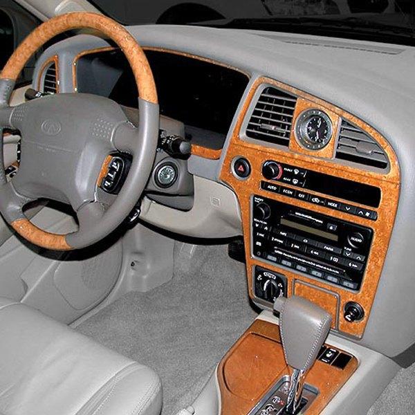 2000 Infiniti Qx Interior: Infiniti QX4 2001 2D Main Dash Kit