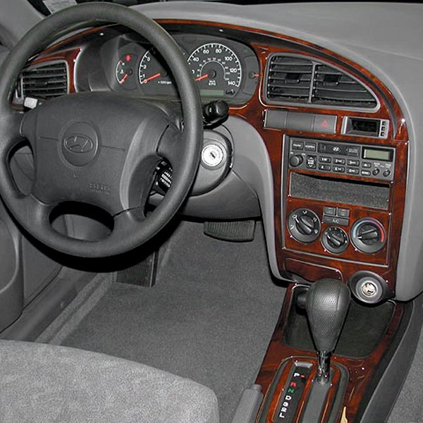 2002 Hyundai Elantra Interior: Hyundai Elantra 4 Doors 2001-2003 2D Full Dash Kit