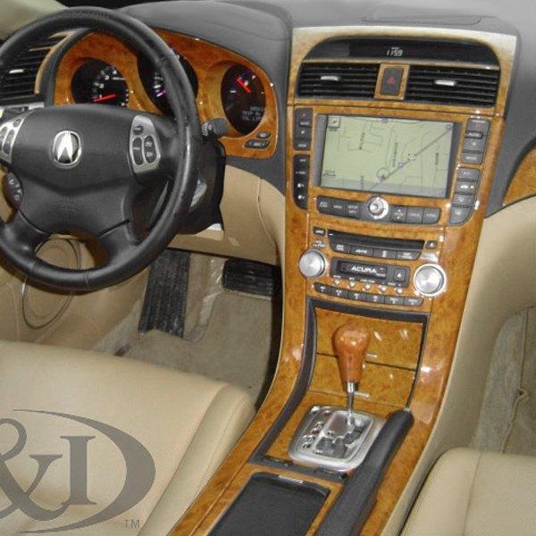 Acura TL 2004-2006 2D Small Dash Kit