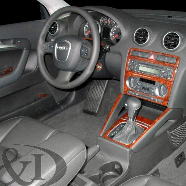 Audi A3 4 Doors 2006 2D Full Dash Kit