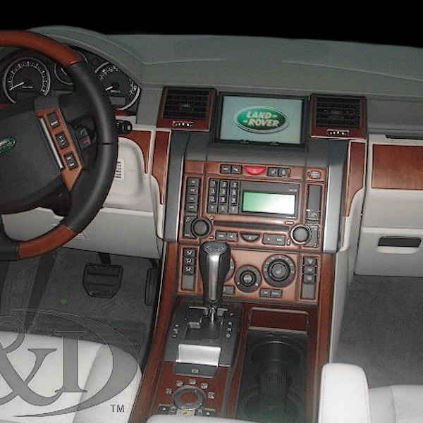2008 Land Rover Range Rover Supercharged: Land Rover Range Rover Sport 2008 2D Main Dash Kit