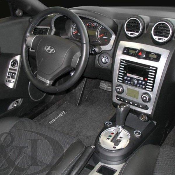 B I Hyundai Tiburon 2007 2008 2d Full Dash Kit