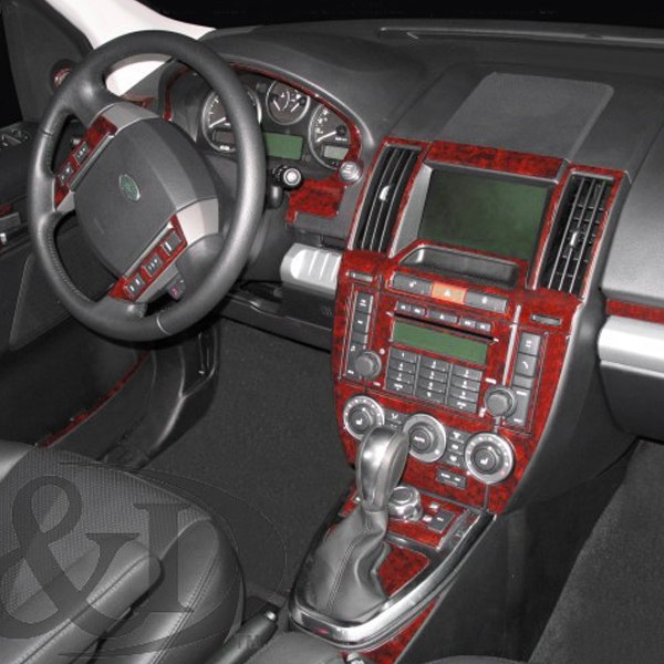 2014 Land Rover Lr2 Interior: 2D Raw Brushed Aluminum Small Dash Kit