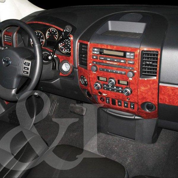 2010 Nissan Titan King Cab Camshaft: Nissan Titan 2008 2D Full Dash Kit