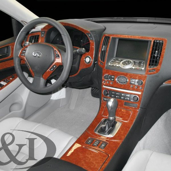 b i infiniti g37 2008 2d large dash kit. Black Bedroom Furniture Sets. Home Design Ideas