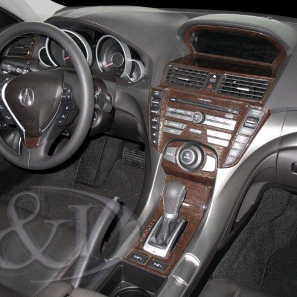 Acura TL 2012 2D Full Dash Kit