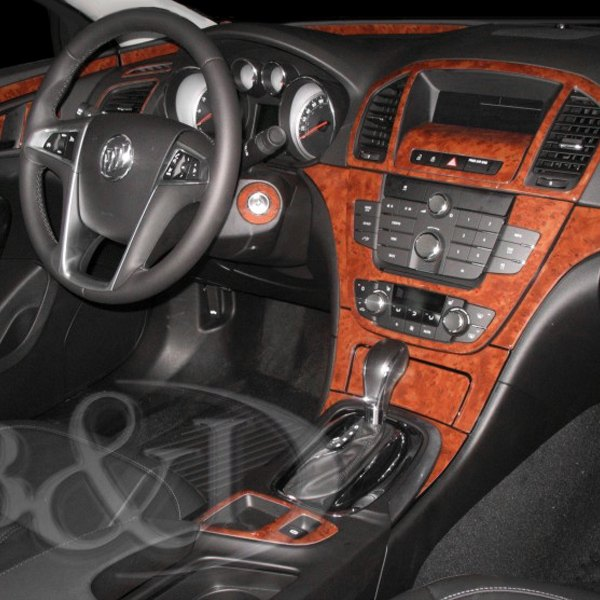 2013 Buick Regal Suspension: Buick Regal 2011 2D Large Dash Kit