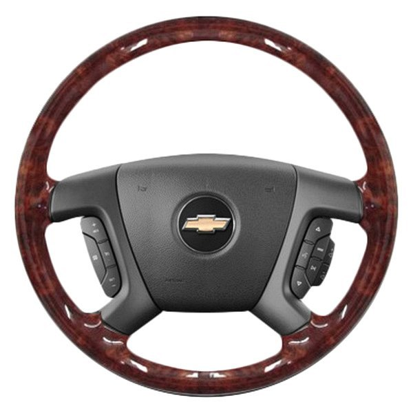 b i chevy avalanche 2013 woodgrain design steering wheel. Black Bedroom Furniture Sets. Home Design Ideas