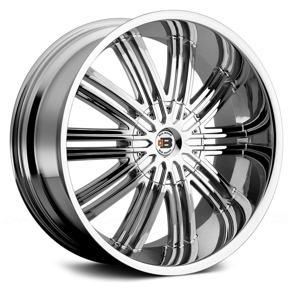 30 Chrome Rims : Big bang bb wheels chrome rims