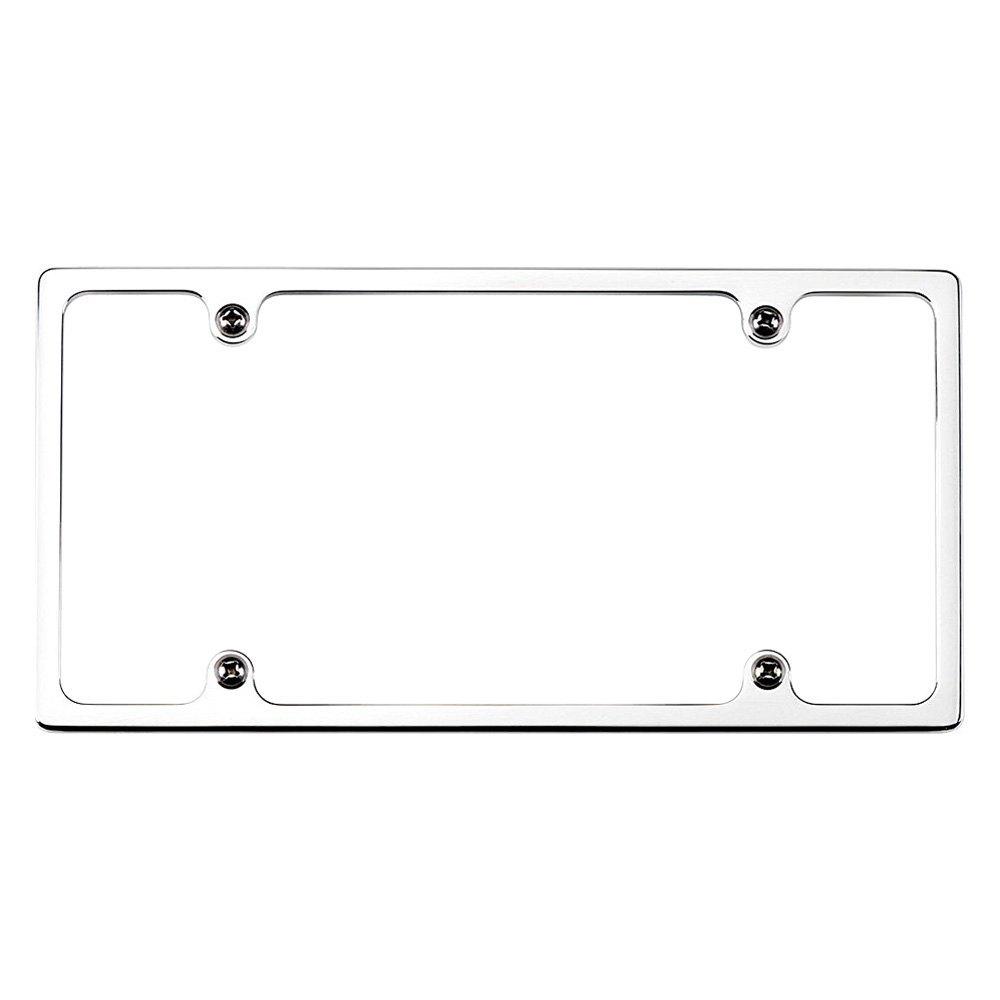 Billet Specialties® 55020 - Plain Slim-Line Polished License Plate Frame