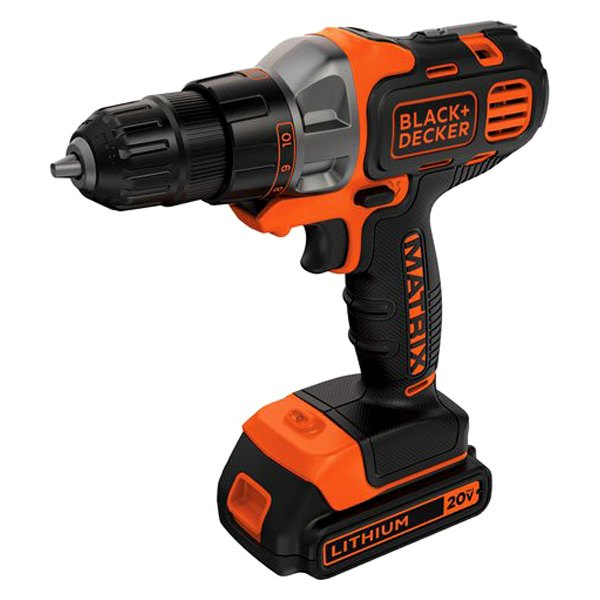 BLACK+DECKER 20-Volt MAX Lithium-Ion Cordless Drill/Driver ... |Cordless Power Tools Black And Decker
