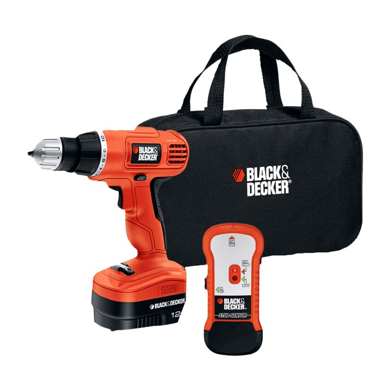 black decker gco12sfb cordless drill. Black Bedroom Furniture Sets. Home Design Ideas