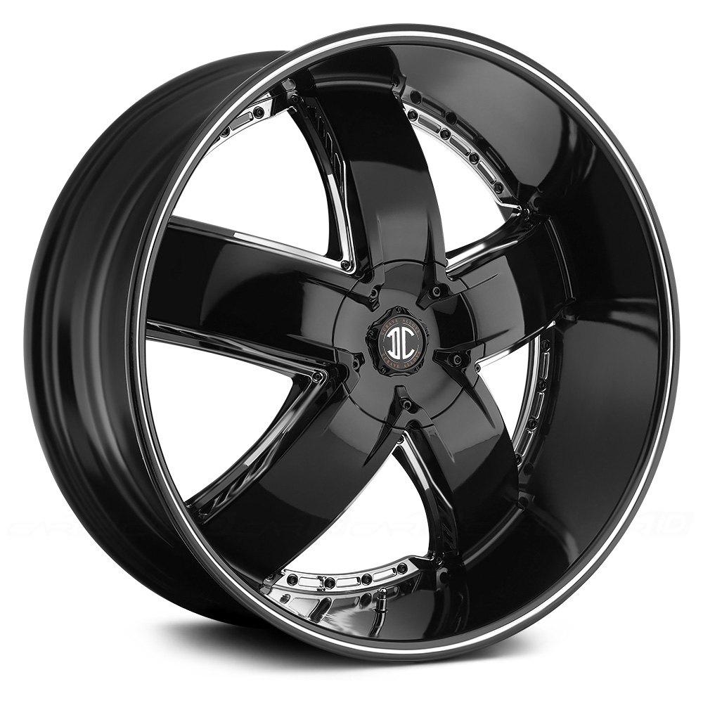 Black Diamond 174 No 18 Wheels Gloss Black With Machined