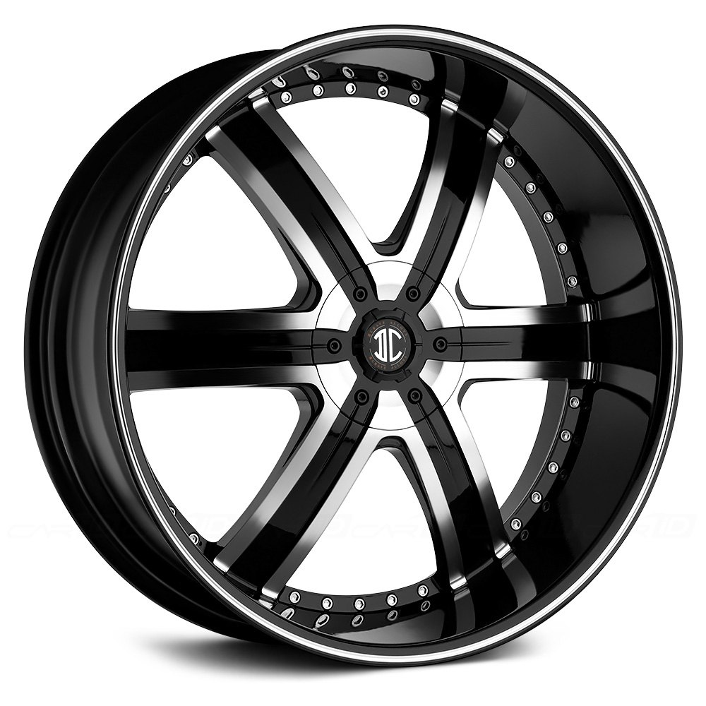 Black Diamond 174 Number 4 Wheels Gloss Black With Machined