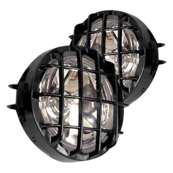 Black Horse 174 Ks1517 Bkl 5 Quot Round Fog Beam Lights With