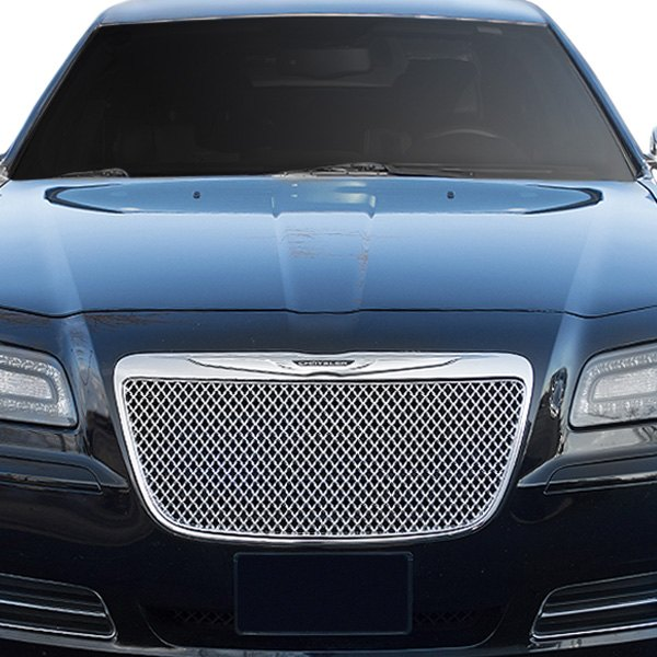 Chrysler 300 2013 1-Pc Chrome Mesh Grille