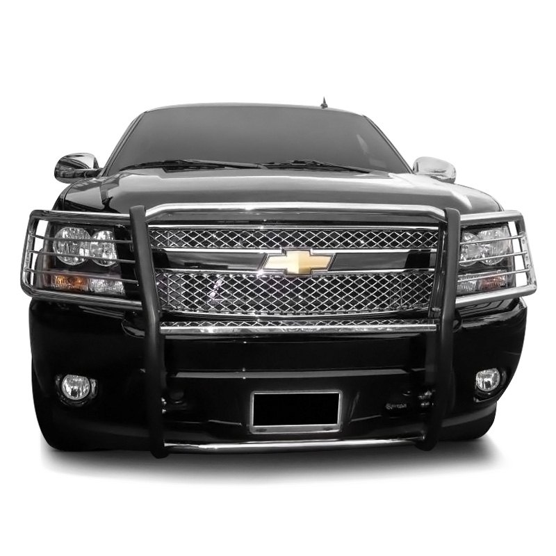 Chevy Brush Guard : Black horse chevy tahoe  modular design grille