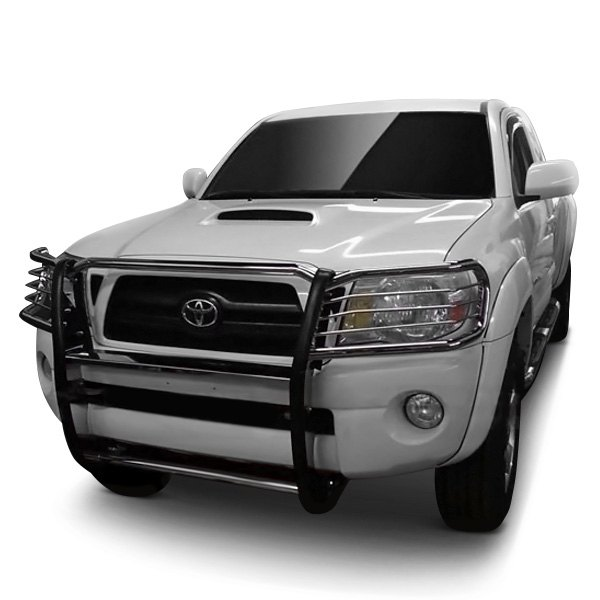 black horse toyota tacoma 2009 modular design grille guard. Black Bedroom Furniture Sets. Home Design Ideas