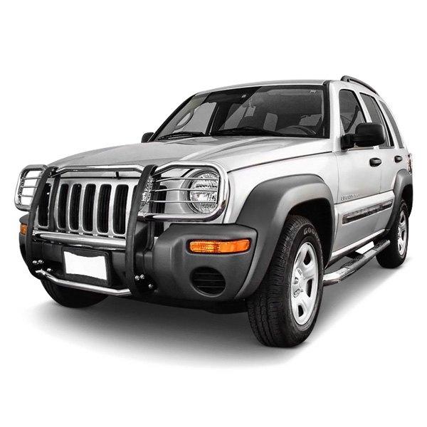 2002 Jeep Liberty Exterior: Jeep Liberty 2002 Modular Design Grille Guard