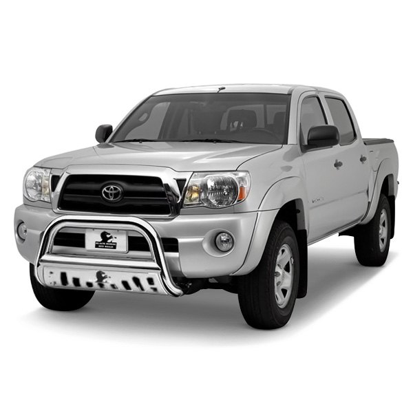black horse toyota tacoma 2009 3 bull bar with skid plate. Black Bedroom Furniture Sets. Home Design Ideas