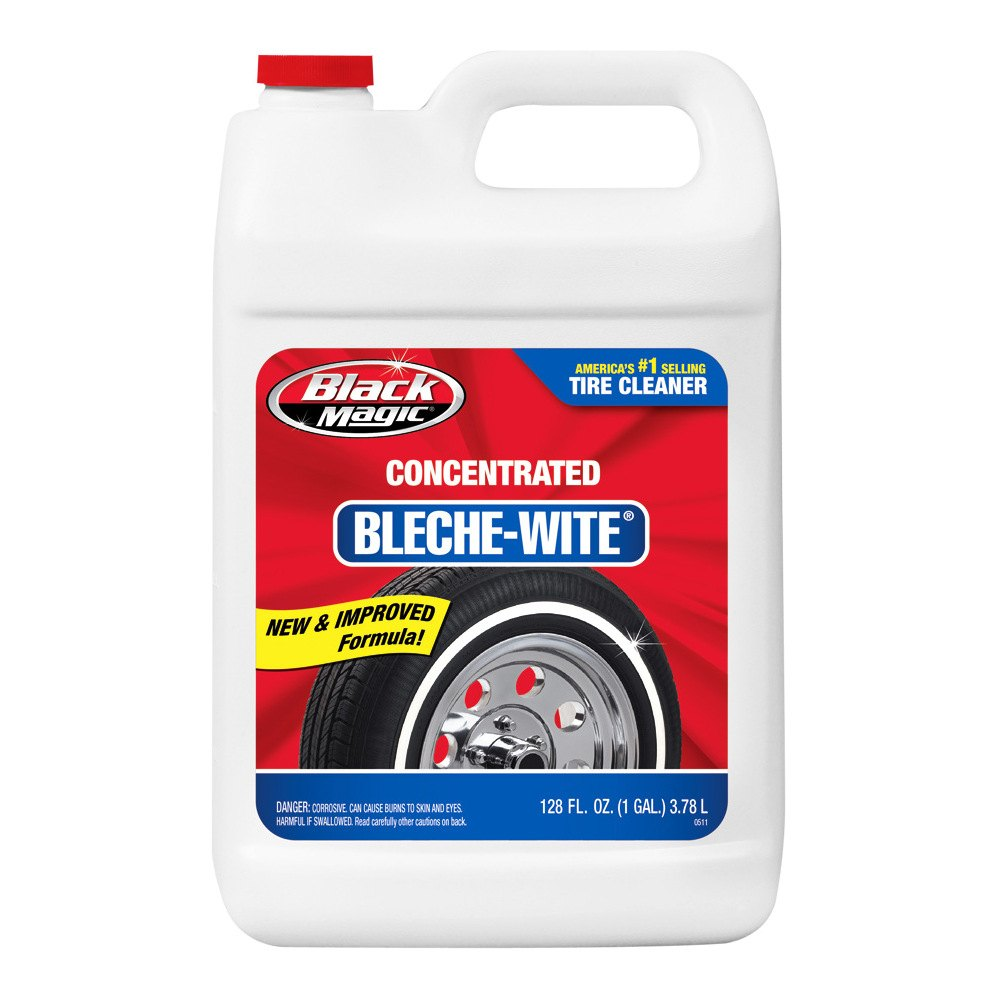 black magic 800002222 bleche wite concentrated tire cleaner 1 gal. Black Bedroom Furniture Sets. Home Design Ideas