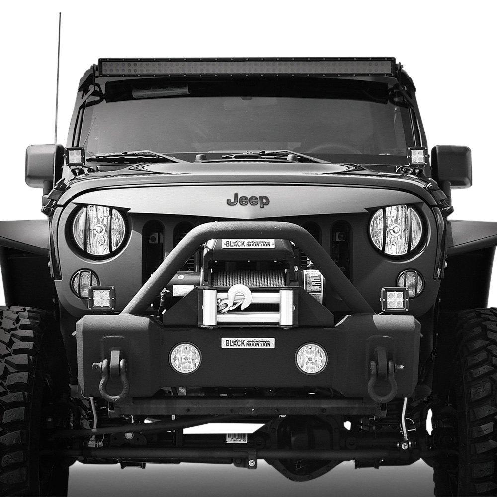 Black Mountain Jeep Wrangler 2016 Intimidator bo Kit