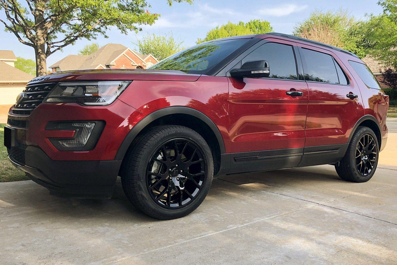 Ford Explorer Black Rims >> Black Rhino Kunene Gloss Black