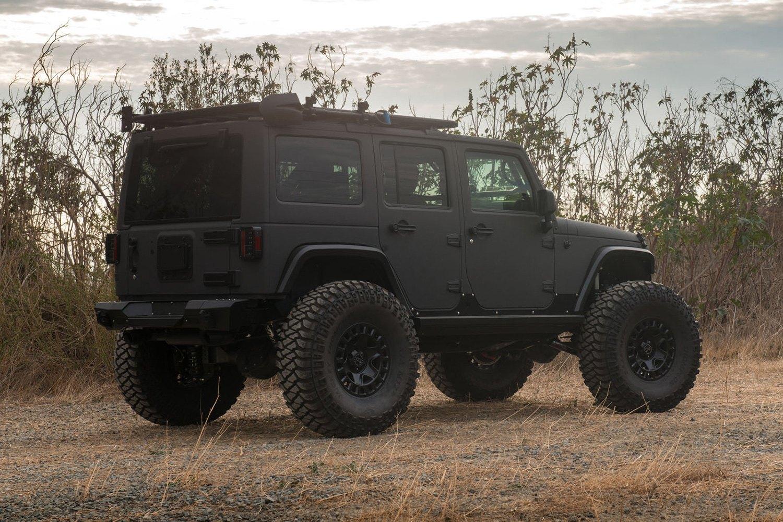 Jeep Matte Black >> Black Rhino York Matte Black