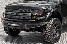 BLACK RHINO® - IMPERIAL Matte Black on Ford F-150