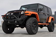 BLACK RHINO® - IMPERIAL Matte Black on Jeep Wrangler