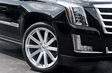 BLACK RHINO® - TRAVERSE Silver with Mirror Cut Face on Cadillac ATS