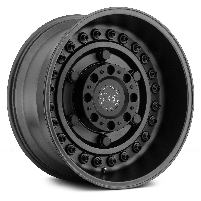 Black Rhino 174 Armory Wheels Gunblack Rims
