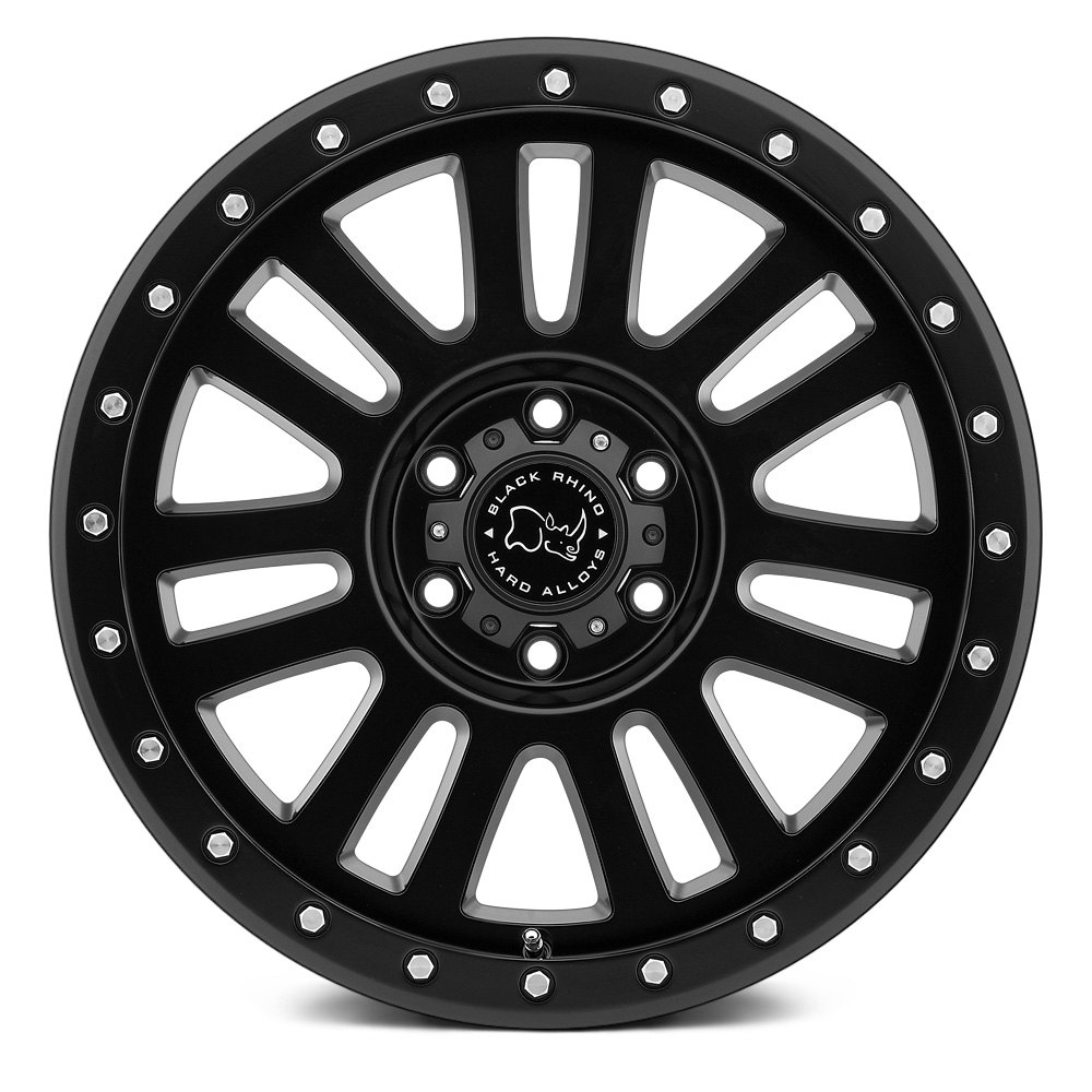 BLACK RHINO® El CAJON Wheels - Matte Black Rims