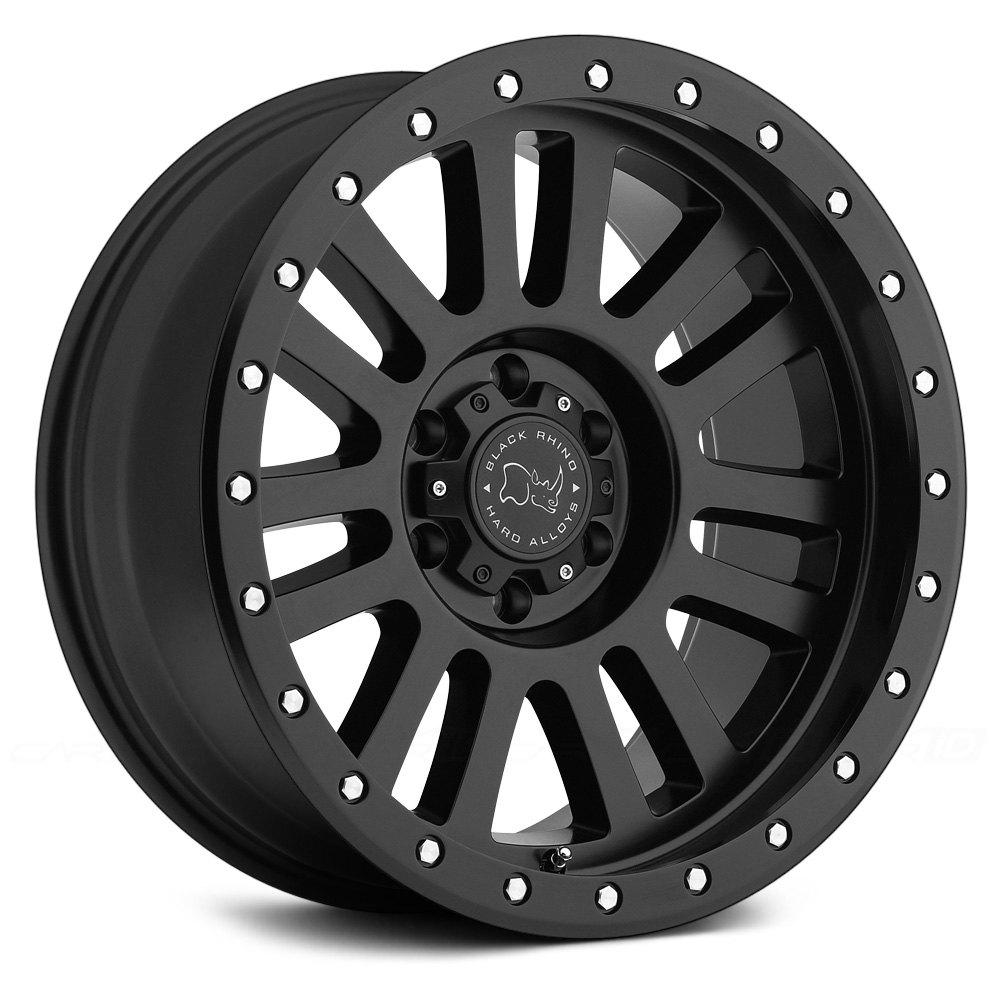 Black Rhino 174 El Cajon Wheels Matte Black Rims