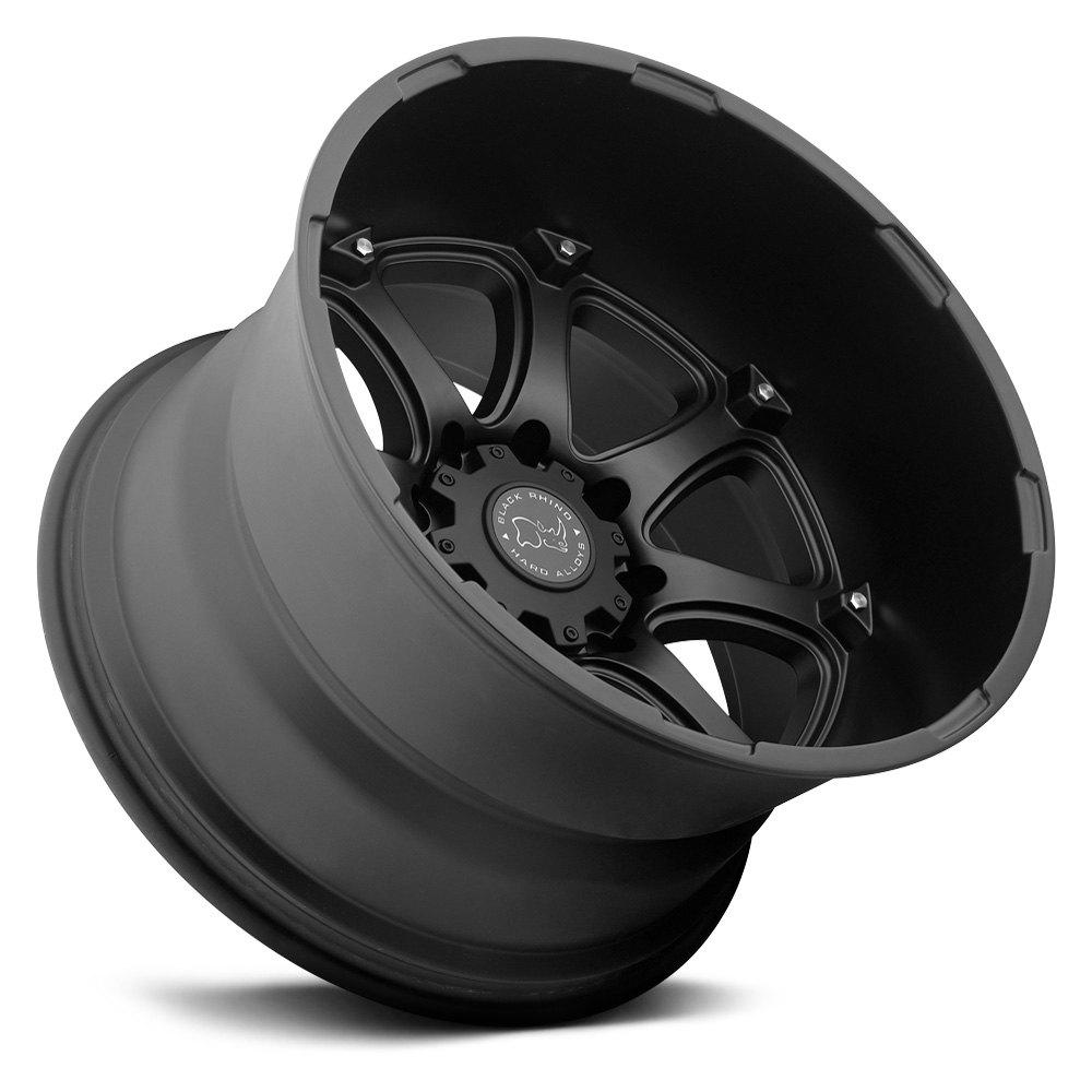 Custom Dodge Ram >> BLACK RHINO® GLAMIS Wheels - Matte Black Rims