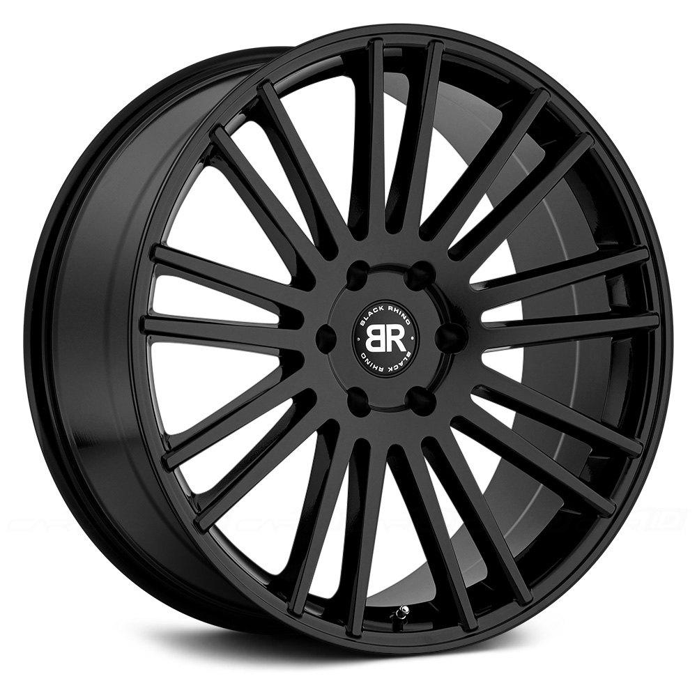Black Rhino 174 Kruger Wheels Gloss Black Rims