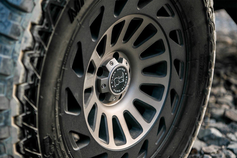 BLACK RHINO® MADNESS Wheels - Matte Black with Dark Tint ...
