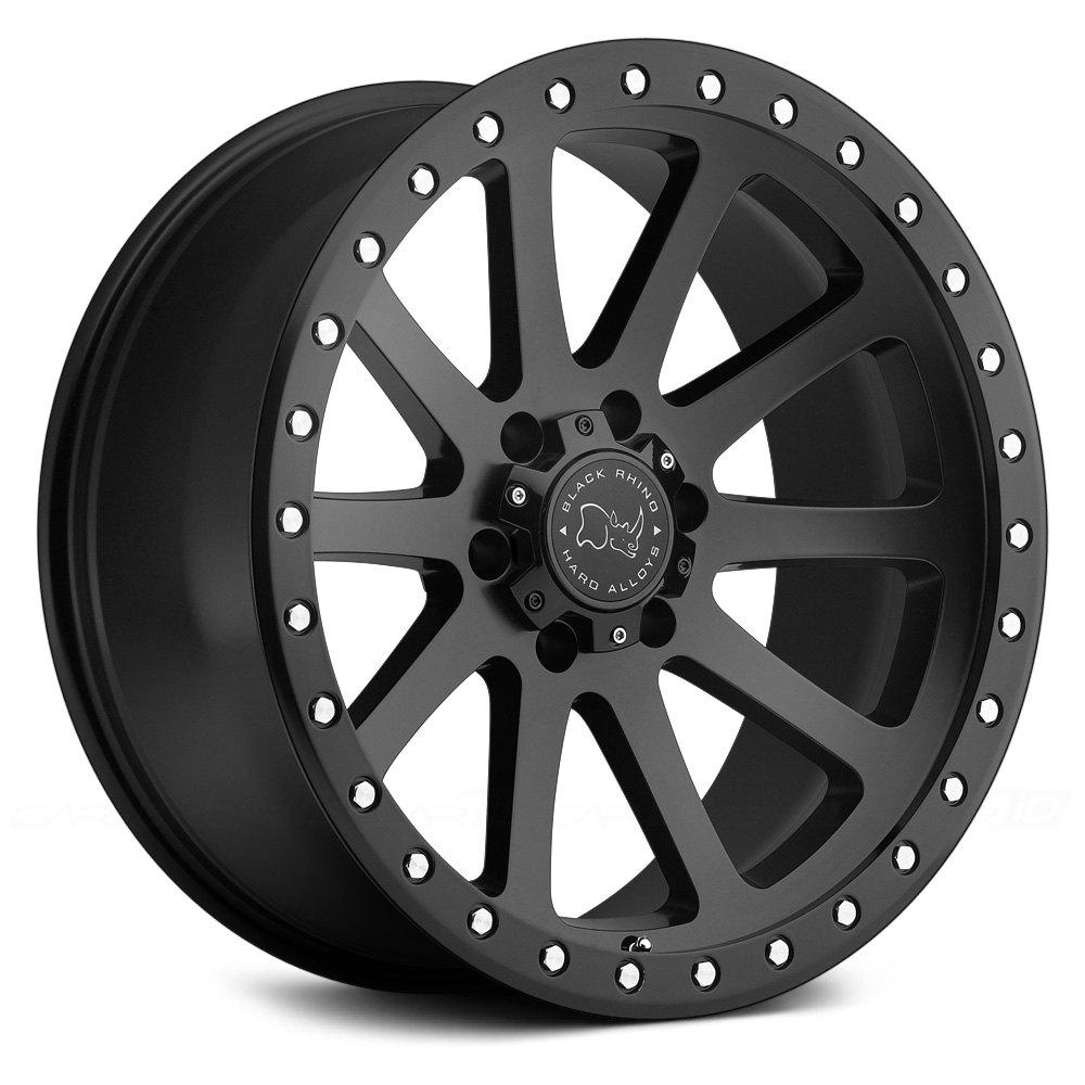 Black Rhino 174 Mint Wheels Matte Black Rims