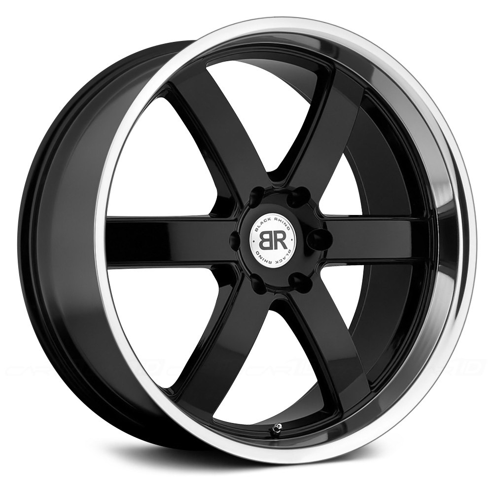 Black Rhino 174 Pondora Wheels Gloss Black With Machined