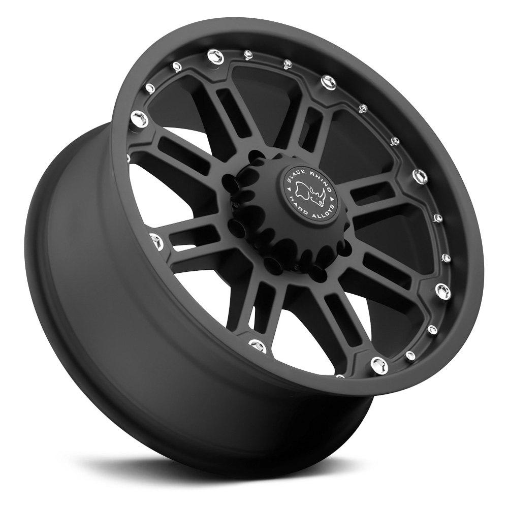 BLACK RHINO® ROCKWELL Wheels - Matte Black Rims