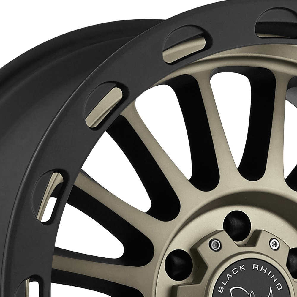 Black Rhino 174 Taupo Wheels Matte Black With Dark Tint