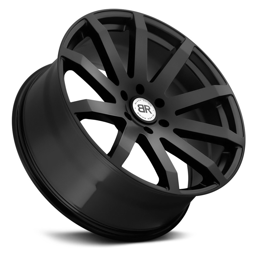 black rhino174 traverse wheels matte black rims