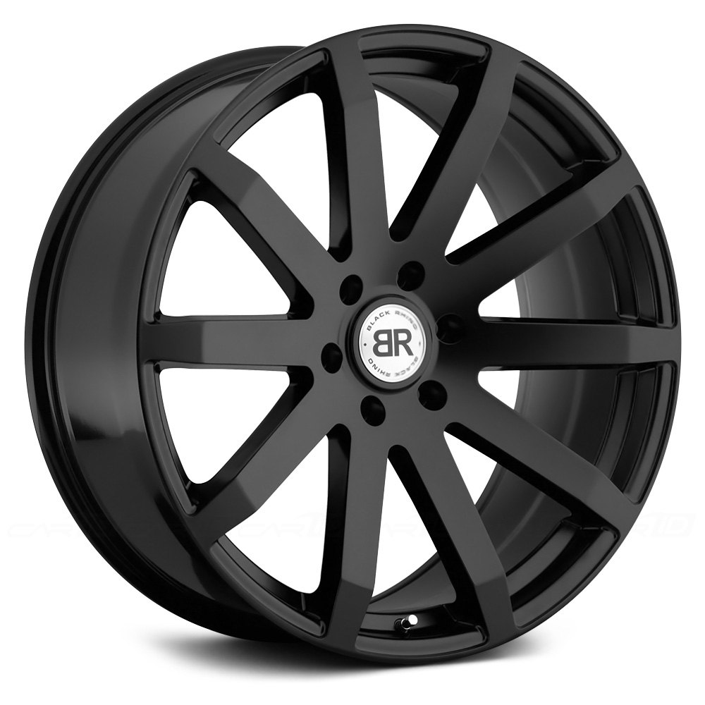 Black Rhino 174 Traverse Wheels Matte Black Rims