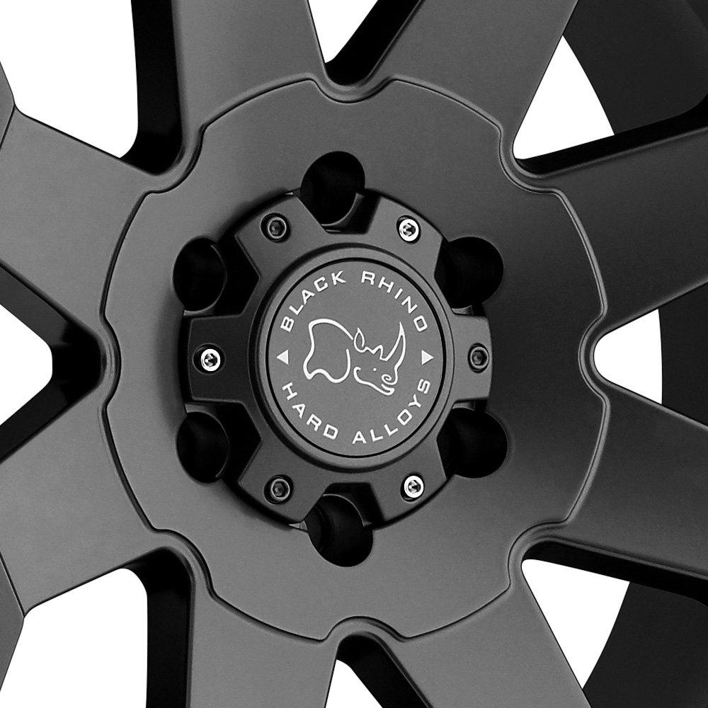 Black rhino wheels logo
