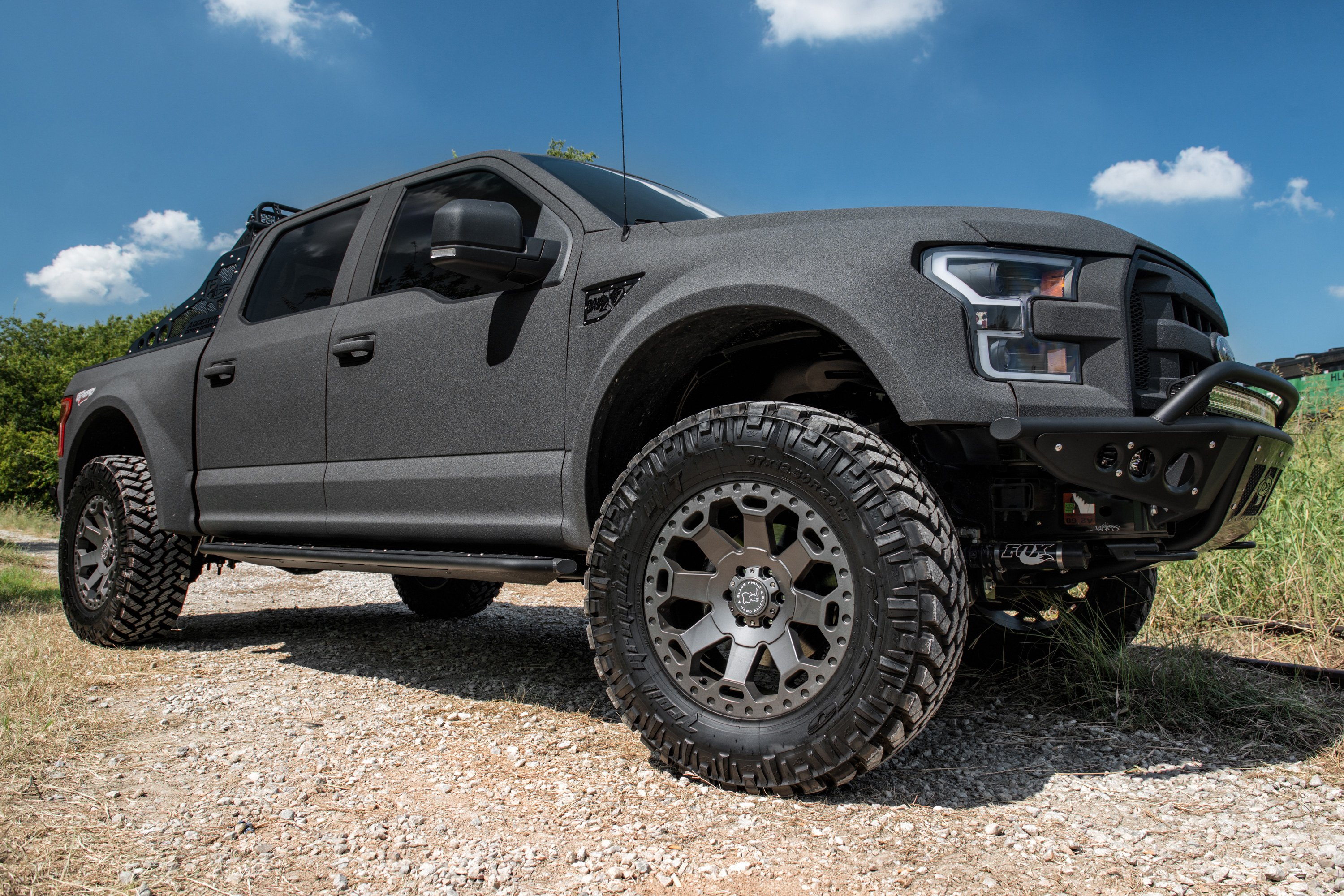 Ford F150 Long Bed >> BLACK RHINO® WARLORD Wheels - Matte Gunmetal Rims