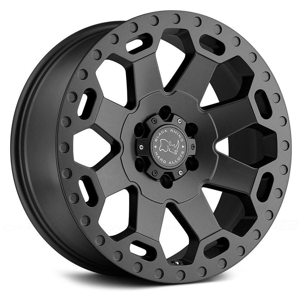 Black Rhino 174 Warlord Wheels Matte Gunmetal Rims