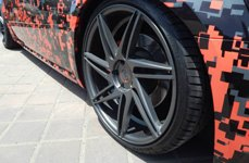 BLAQUE DIAMOND® - BD-1 Matte Graphite on Dodge Magnum