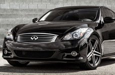 BLAQUE DIAMOND® - BD-6 Matte Graphite with Machined Face on Infiniti G37